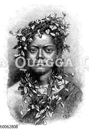 Samoanisches Mädchen