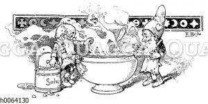 Kochbuchvignette: Suppen