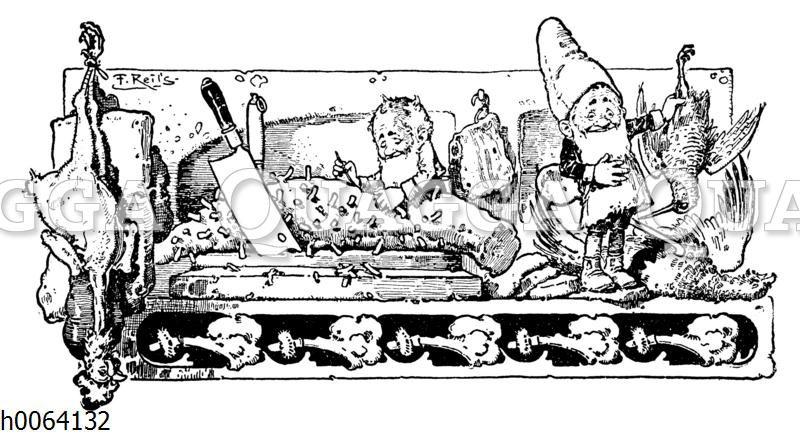 Kochbuchvignette: Geflügel