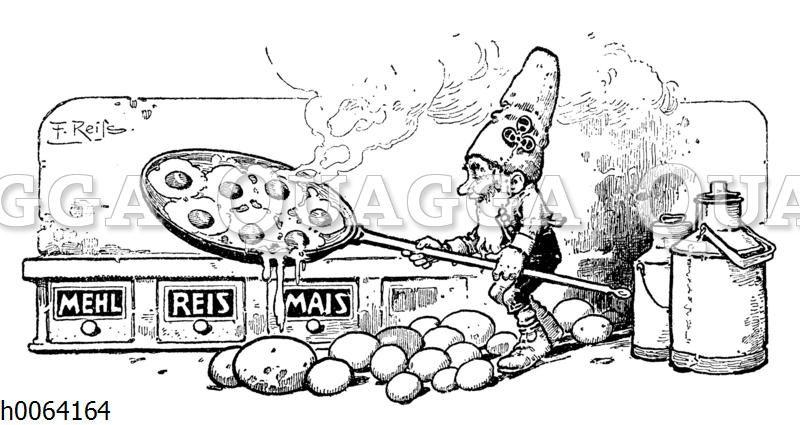 Kochbuchvignette: Eierspeisen