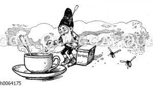 Kochbuchvignette: Kaffee