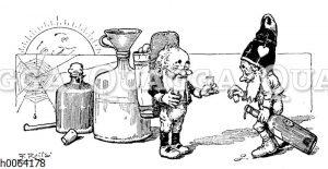 Kochbuchvignette: Likör und Wein