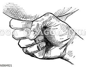 Melkende Hand