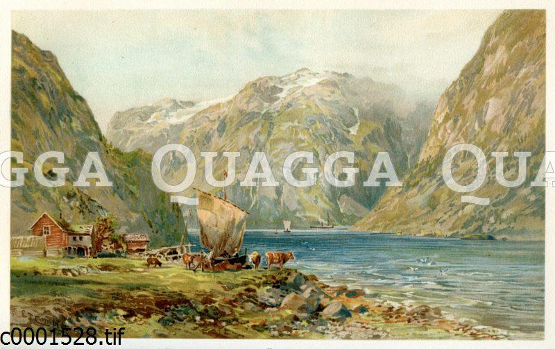 Sognefjord im südwestlichen Norwegen