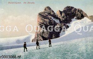 Bergsteiger im Dachsteingebiet