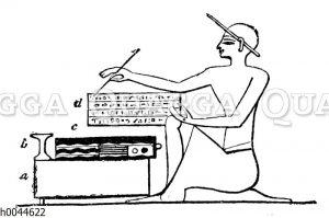 Ägyptischer Schreiber