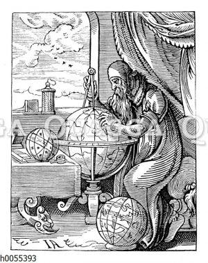 Deutscher Geograph aus dem Zeitalter der Entdeckungen
