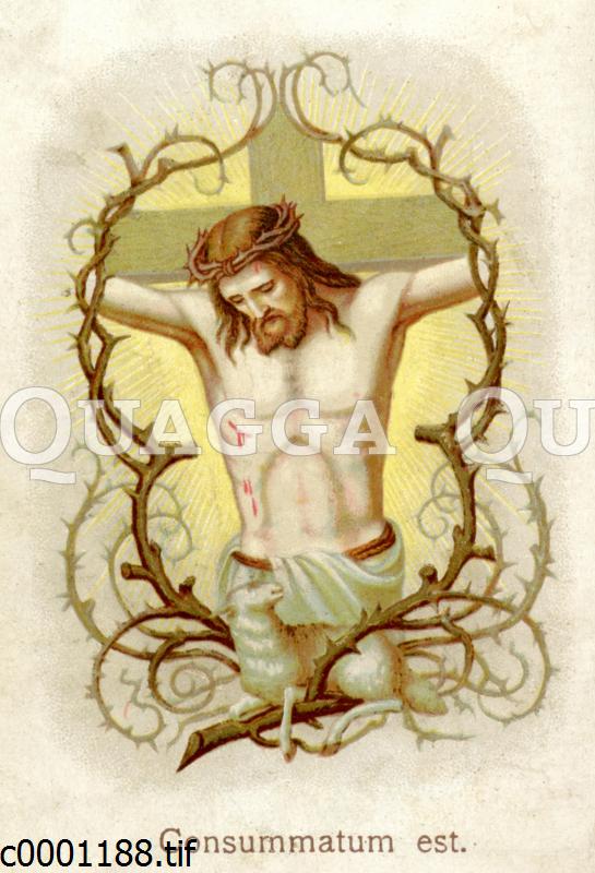 Consummatum est. Jesus stirbt am Kreuz