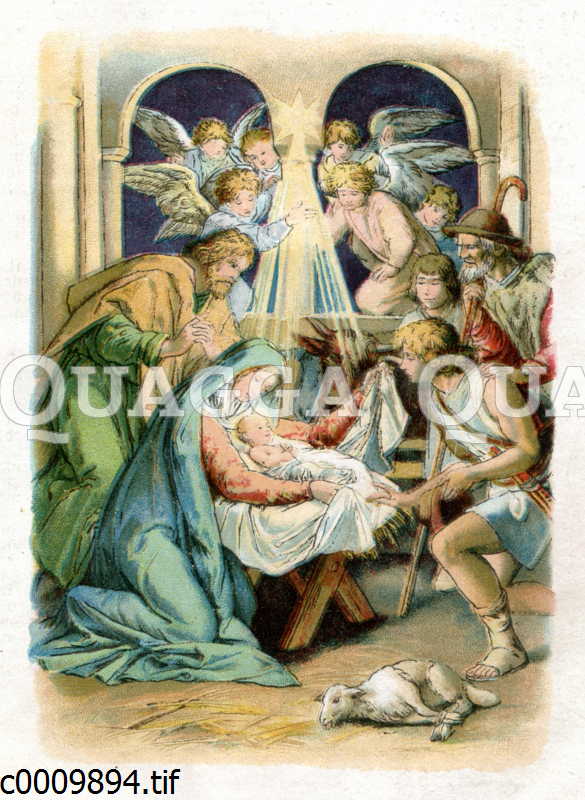 Christi Geburt in Bethlehem
