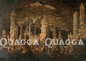 Höhlen von Postojna (Adelsberger Grotte) in Slowenien