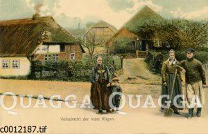 Tracht der Fischer und Bauern auf der Insel Rügen
