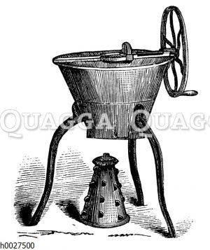 Kartoffel- und Rübenschneidemaschine
