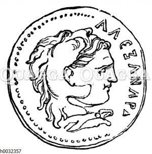Alexander der Große als Herakles
