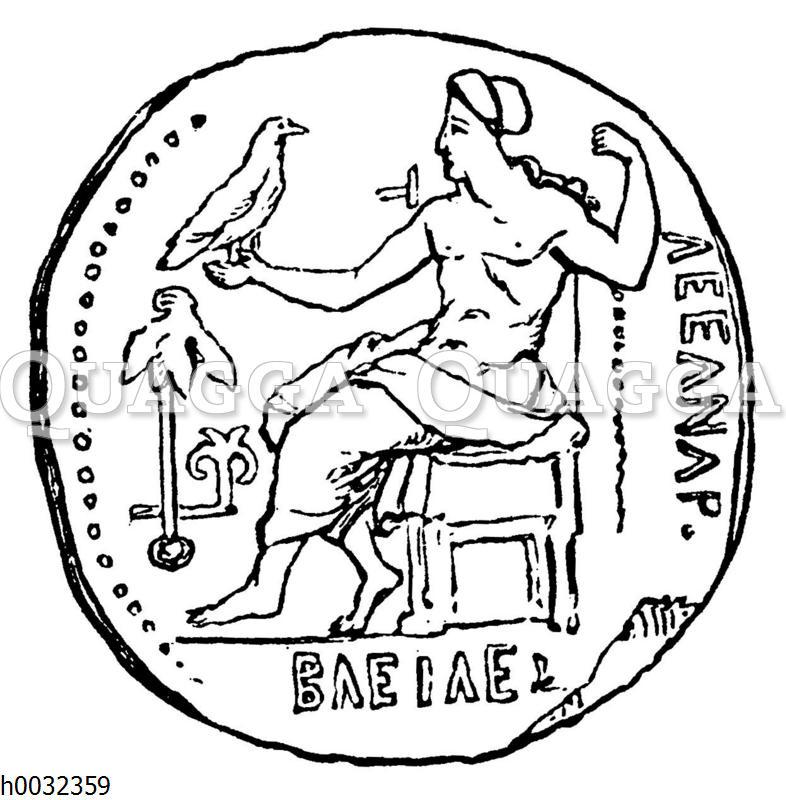 Alexander der Große als Zeus