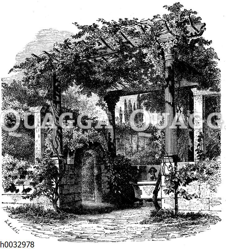 Paradiesgarten bei Sanssouci: Eingang