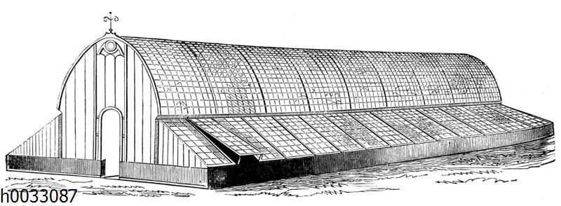 Gewächshauskonstruktion für verschiedenartige Zwecke