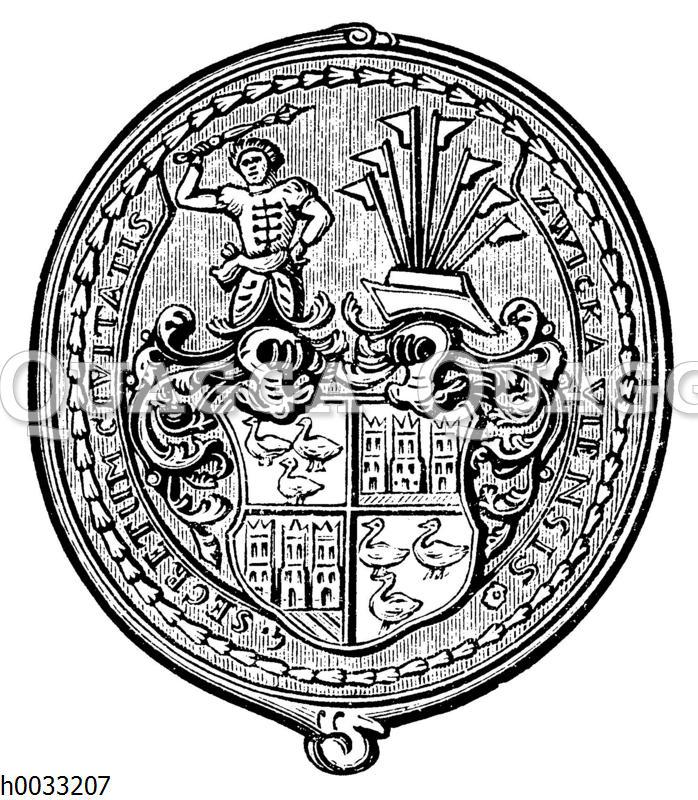 Wappen von Zwickau