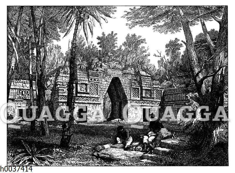 Tor zu Labnah in Yucatan