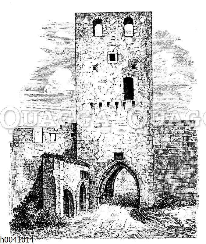 Torturm zu Eggenburg in Niederösterreich