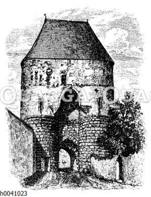 Tor zu Hainburg in Niederösterreich