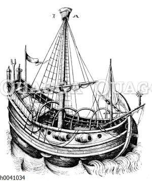 Schiff aus dem 15. Jahrhundert