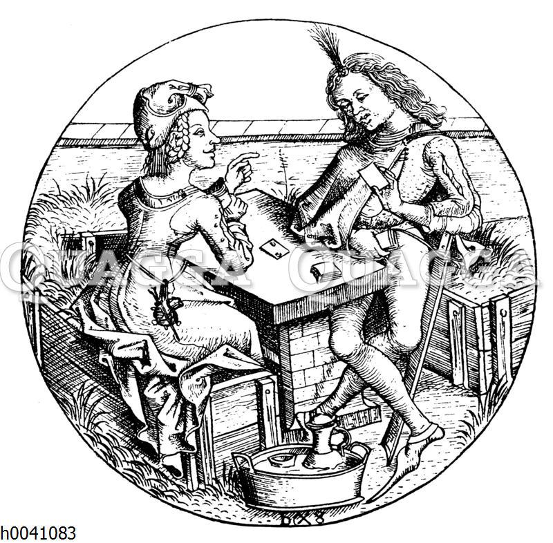 Verlorene Partie. Kartenspiele im 15. Jahrhundert