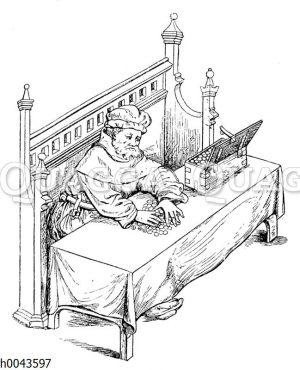 Englischer Kaufmann des 15. Jahrhunderts