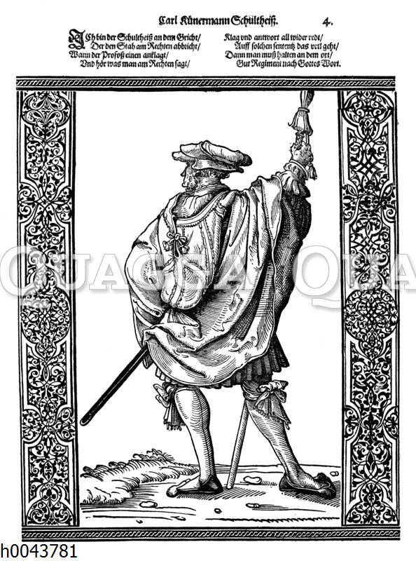 Schultheiß im 16. Jahrhundert