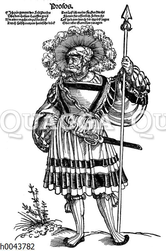 Profoß im 16. Jahrhundert