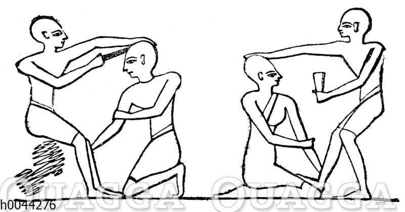 Ärzte und Patienten im alten Ägypten