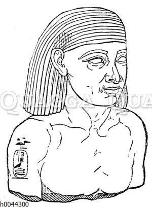 Porträtstatue Psamtiks I.