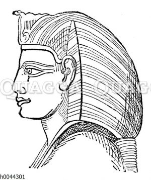 Statue des Menephta