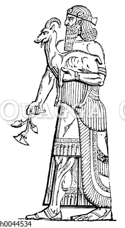 Assyrischer Priester