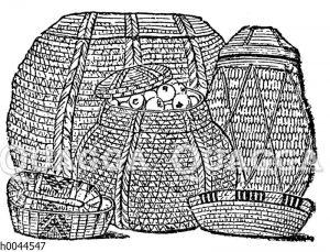 Altägyptische Körbe