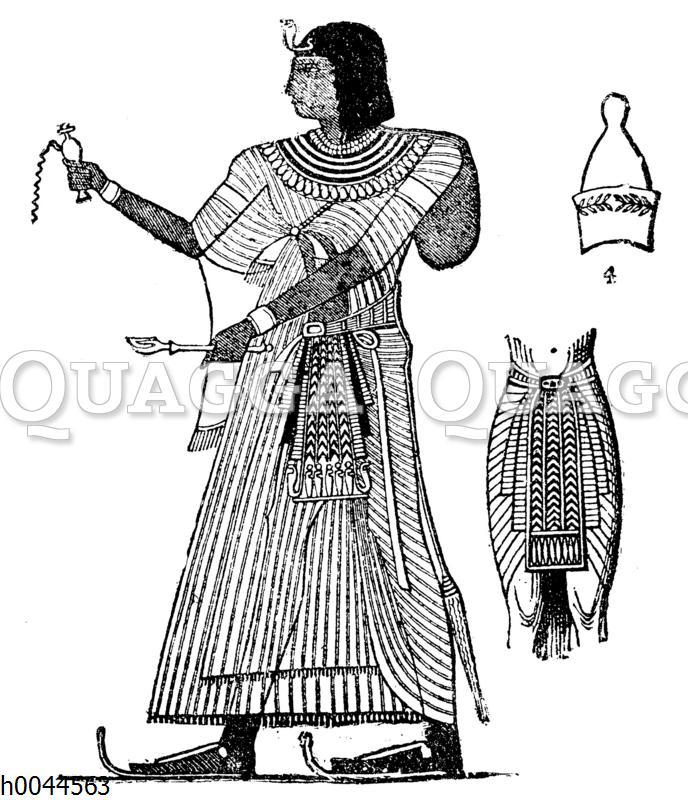 Kleidung des Pharao