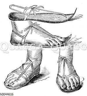Orientalische Fußbekleidung