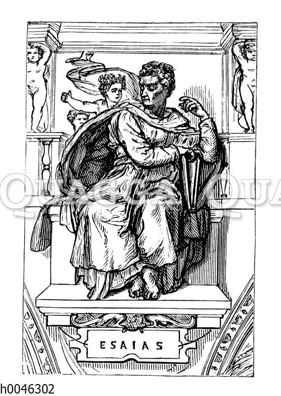 Jesaias. Von Michelangelo Buonarroti