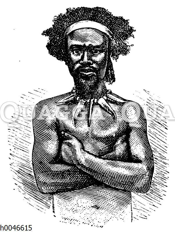 Medizinmann der Zulu