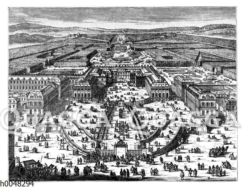 Schloss Versailles zur Zeit Ludwigs XIV.