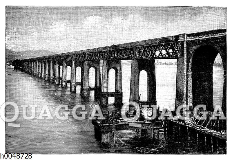 Neue Taybrücke in Schottland