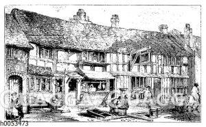 Shakespeares Geburtshaus in Stratford