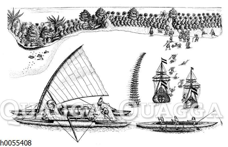 Holländische Schiffe