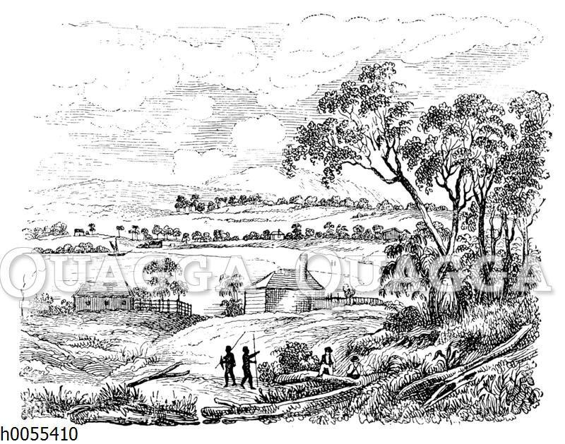 Sydney zum Zeitpunkt seiner Entstehung