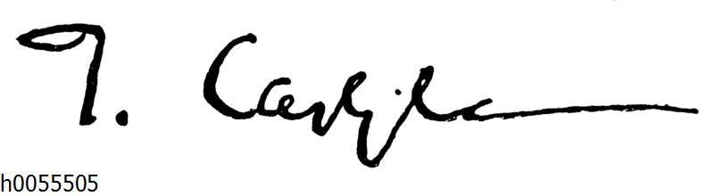 Thomas Carlyle: Autograph