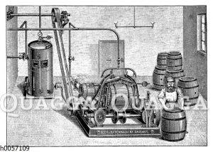 Fasswaschmaschine
