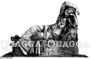 Die schlafende Ariadne