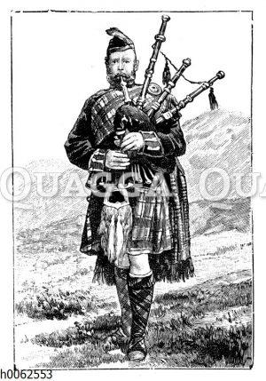 Schottischer Soldat