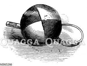 Ball und Schläger