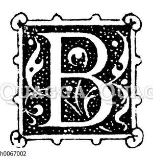 Buchstabe B