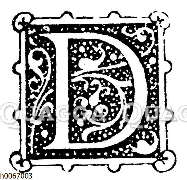 Buchstabe D